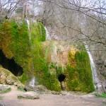 Ansicht Wasserfall bei Nohn
