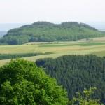Ausblick Windsbornkratersee bei Manderscheid