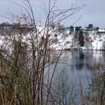 Eichholzmaar im Winter