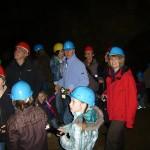 Eishöhlen Birresborn mit Gästen