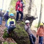 Geburtstagsfeier Eishöhlen - Kletterfelsen