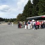 Krimibus an der Nordschleife