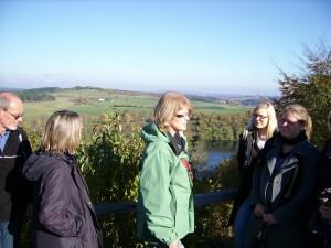 Weinfelder Maar mit Gästen