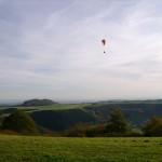 Windsbornkrater- Mosenberg mit Drachenflug